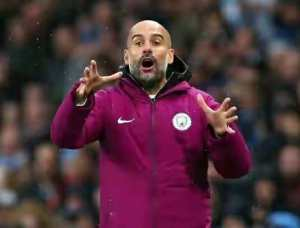 Champions League: How Guardiola snubbed Man City players after Lyon defeat
