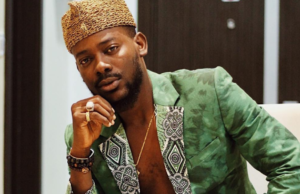 Adekunle Gold reacts as female fan begs to be his second wife