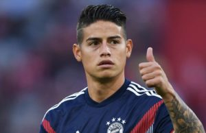 James Rodriguez to join EPL club on Wednesday from Real Madrid