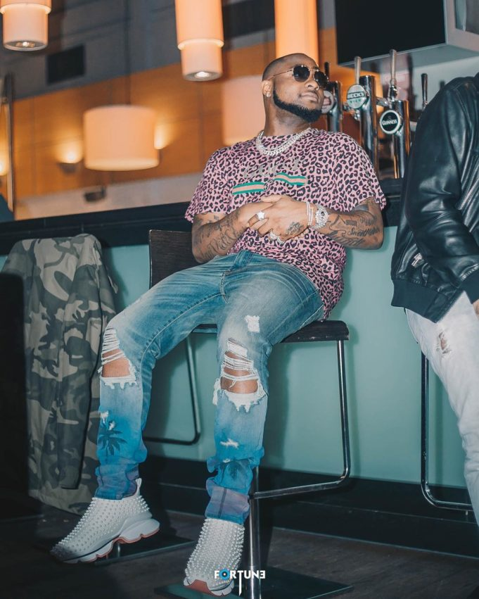 Davido's hit song, 'Blow my mind', crosses 40 million on YouTube