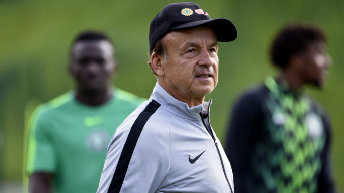 Rohr invites 26 Super Eagles players for friendlies against Tunisia, Ivory Coast (Full List)