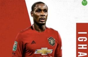 Osun United's €10k gain from Ighalo's Manchester United loan moved into government account