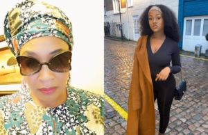 Kemi Olunloyo mocks Chioma on her birthday, reminds her of her Audio cooking show and 2018 Porsche car