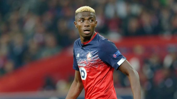 What Victor Osimhen said after joining Napoli from Lille