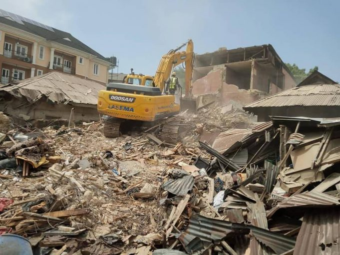 LASEMA averts another collapsed building tragedy