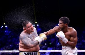 Mike Tyson - Omits Anthony Joshua in list of top five boxers