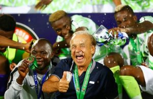 BREAKING NEWS: Nigeria extends Gernot Rohr's contract as Super Eagles coach