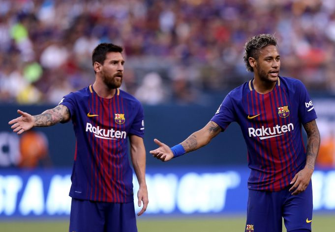 Neymar rated second-best player globally behind Lionel Messi