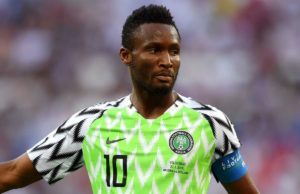 Mexican champions Monterrey target Former Super Eagles captain, Mikel Obi