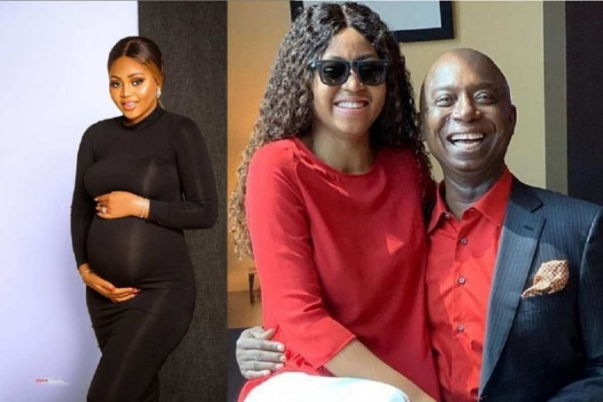 """Ned Nwoko tells Regina Daniels as he gushes over their cute son — """"I was good-looking when I was little"""" (Video) 