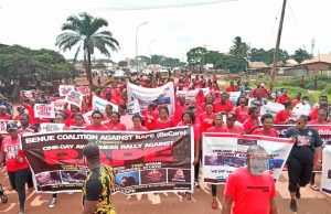 Rape: Protesters shut down Otukpo, say 8 cases recorded in 1 week