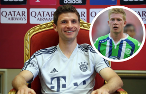 Bayern Munich's Thomas Muller surpasses De Bruyne to set new Bundesliga assists record
