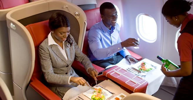 Minister of aviation – Food will no longer be served aboard domestic flights
