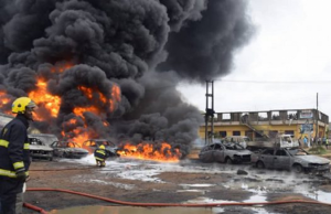 Many feared dead as gas explodes in Isolo, Lagos