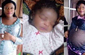 Nigerian Lady Welcomes Baby Girl After 12 Years Of Childlessness (Photos)