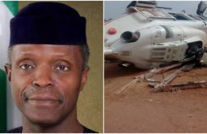 Why Osinbajo's helicopter crashed – AIB