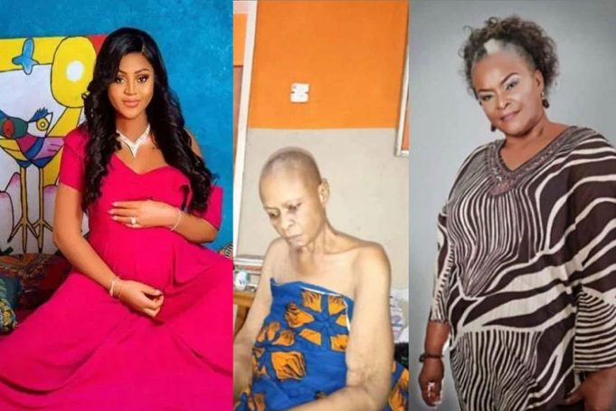 AGN Allegedly Abandoned Sick Actress, Ify Onwuemene, Halima Abubakar But Paid Regina Daniels A Visit After Her ChildBirth