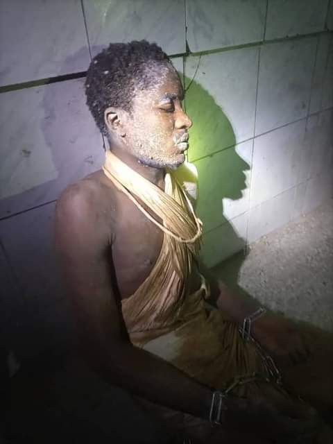 22-year-old man reunited with his family after he was found with legs, hands chained and dumped behind mosque in Abuja community [Photos] || PEAKVIBEZ