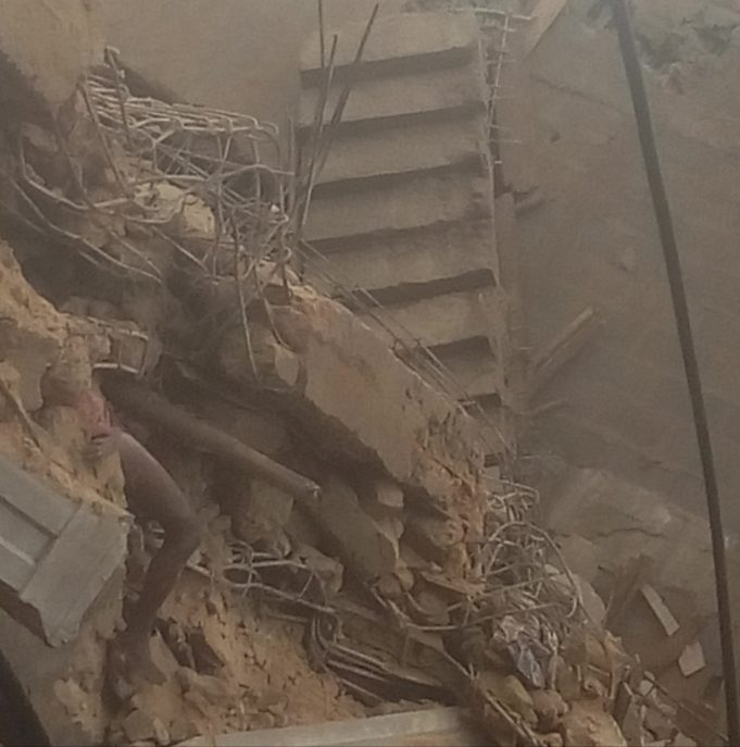 At least four dead, more feared trapped as building under construction collapses in Aba (photos)