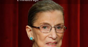 US Justice Ruth Bader Ginsburg, dies aged 87 after year long battle with cancer || PEAKVIBEZ