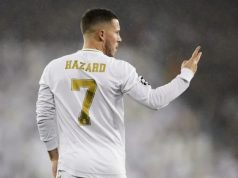 La Liga: Real Madrid gives update on Hazard's injury ahead of Valladolid clash