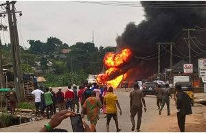 Lagos explosion: 15 injured, church, others destroyed