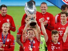 Muller becomes joint-most decorated player in German history after Bayern lift UEFA Super Cup