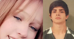 Teenager accused of killing his pregnant girlfriend claims he was 'playing around' when the gun went off