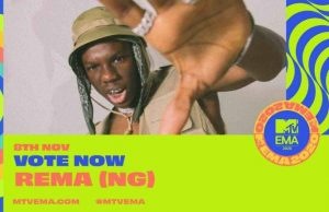"2020 MTV EMA:- Burna Boy, Rema, Nominated for ""Best African Act"" Award"