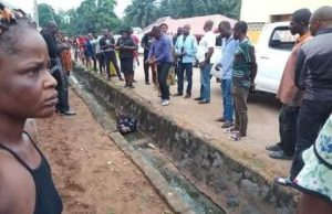 Corpse of a woman found dumped inside drainage in Benue || PEAKVIBEZ