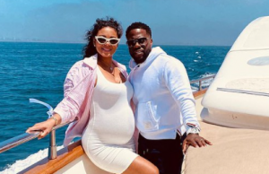 Kevin Hart and wife Eniko Hart share first photo of their newborn daughter || PEAKVIBEZ