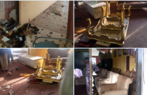 Three #ENDSARS protesters feared dead in Ogbomoso after attack on king's palace by angry youths || PEAKVIBEZ
