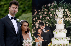 Heiress Elettra Lamborghini stuns in a sheer lace mermaid gown as she marries Dutch DJ Afrojack at a lavish villa in Italy (photos)    PEAKVIBEZ