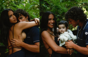 Beautiful family photos of Cassie, her husband, and their daughter || PEAKVIBEZ