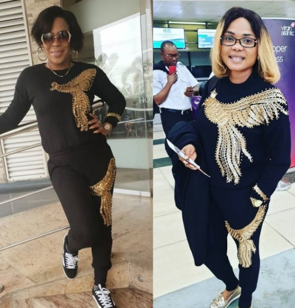 Fathia Williams puts differences aside to condole with Iyabo Ojo on the death of her mother || PEAKVIBEZ