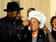 """I will choose you to be my husband over and over"" – Former first lady, Patience Jonathan tells Goodluck Jonathan 