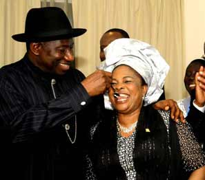 """""""I will choose you to be my husband over and over"""" – Former first lady, Patience Jonathan tells Goodluck Jonathan 