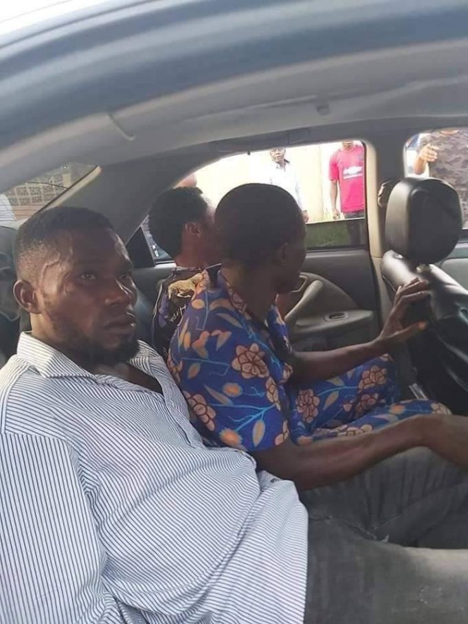 Three members of a notorious car snatching syndicate nabbed in Akwa Ibom [photos]