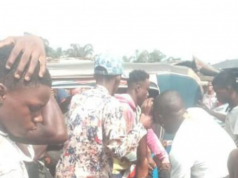 Truck crushes man to death in Port Harcourt [photos]