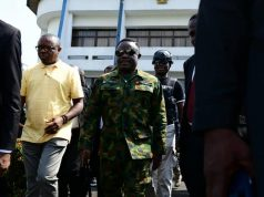 Governor Ayade steps out in military uniform as he launches special security operation to flush out criminals