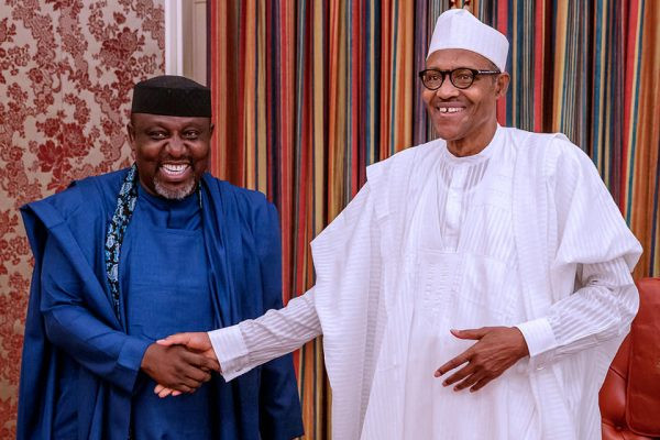 President Buhari should fire the people he hired to work for the country because they have failed - Okorocha