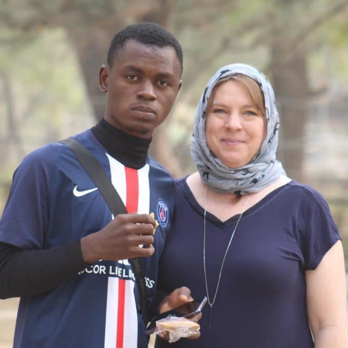 23-year-old Nigerian, Suleiman is set to marry his lover, a 46-year-old American Woman || PEAKVIBEZ