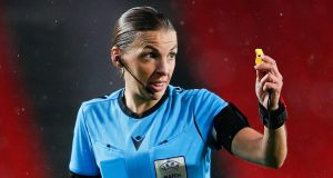 Stephanie Frappart set to make history as the first female referee to take charge of a men's Champions League || PEAKVIBEZ