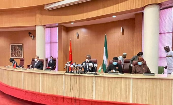 FG - We are in talks with China for COVID19 vaccines || PEAKVIBEZ