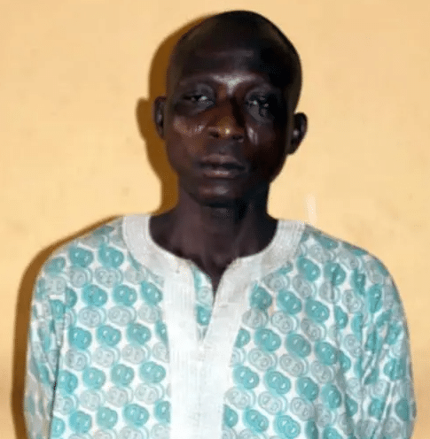 Man, 45, arrested for allegedly raping his 13 year old daughter in Ogun (photo)