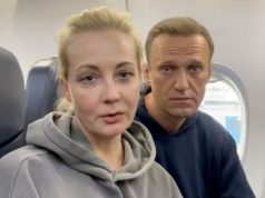 Putin critic, Alexei Navalny's wife and hundreds of people detained as thousands gather across Russia to protest against the government [video]