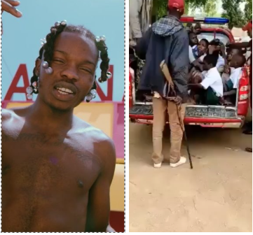 Naira Marley reacts after school children were arrested by Amotekun for modelling themselves as him [video] || PEAKVIBEZ