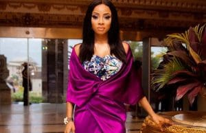 If we are not buddies, in the same circle or living together don't address me using 'dear'- Toke Makinwa