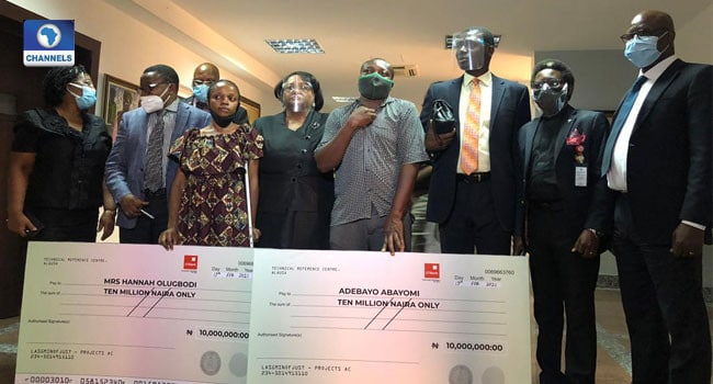 Lagos judicial panel awards N10m each to two victims of police brutality    PEAKVIBEZ