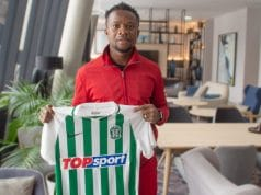 Ogenyi Onazi signs for Lithuanian club champions Zalgiris || PEAKVIBEZ